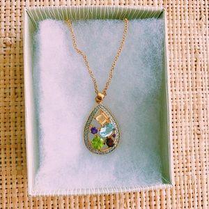 Victoria Townsend multi-stone necklace BNWT